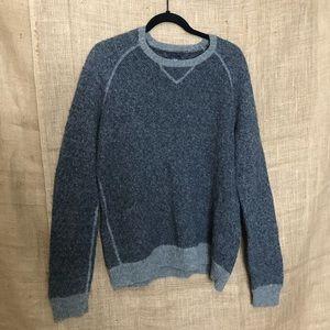 Gap SZ XL Wool Men's Sweater Gray Warm Cozy